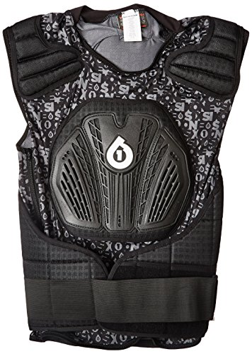 SixSixOne Core Saver Chest Protector (Black, XX-Large)