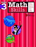 Math Skills: Grade 3 (Flash Kids Harcourt Family Learning)