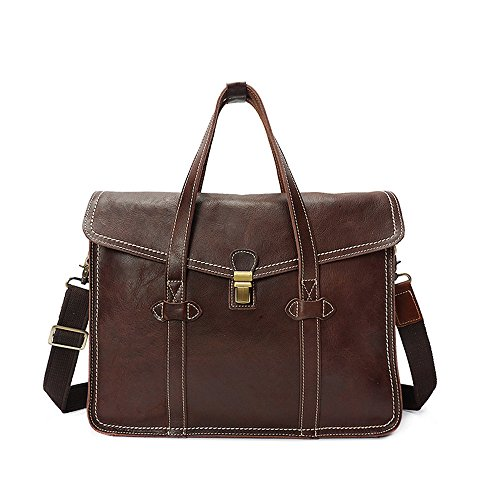 À 1 Sac One Porte Plein Mode Brown D'affaires Sports 1 Messager documents Pour couleur De Air Quotidiens Bandoulière Hommes Vintage Size Taille dr1qBxrw
