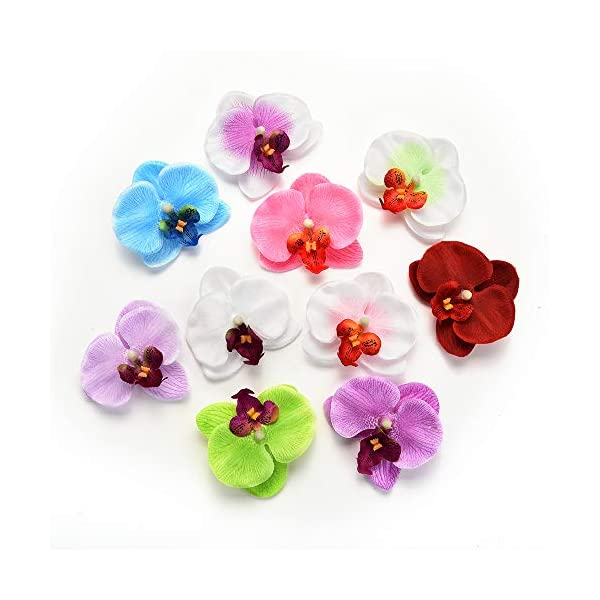 Fake-flower-heads-in-Bulk-Wholesale-for-Crafts-Outdoor-Fashion-Orchid-Artificial-Flowers-DIY-Butterfly-Orchid-Cloth-Fake-Flowers-Bouquet-Party-Wedding-Decoration-Artificial-Flowers-30pcs-65cm