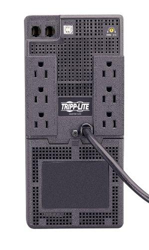 Tripp Lite SMART750USB 750VA 450W UPS Battery Back Up Tower AVR 120V USB RJ45, 6 Outlets by Tripp Lite (Image #1)