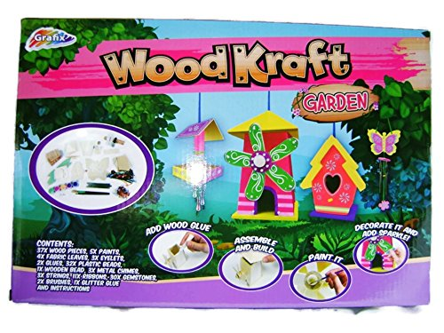 grafix-new-wood-kraft-craft-garden-set-wooden-bird-table-house-windchime-paint-for-age-7-