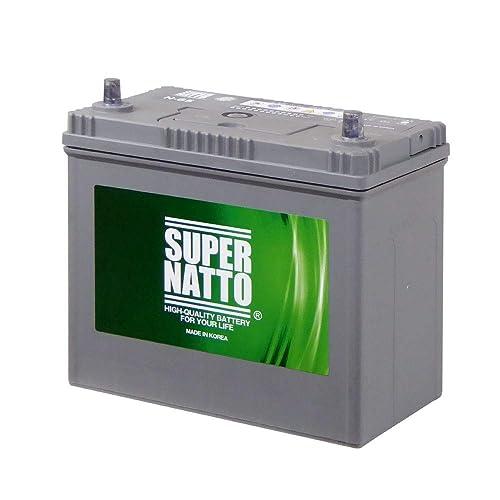 有名メーカーと互角の品質をもつカーバッテリー!スーパーナット N-65