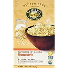 Nature's Path Organic Instant Hot Oatmeal Homestyle -- 8 Packets