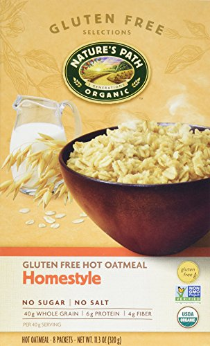 Natures Path Cereal Hot Gluten Free Homestyle, 11.3 oz (Style Path)
