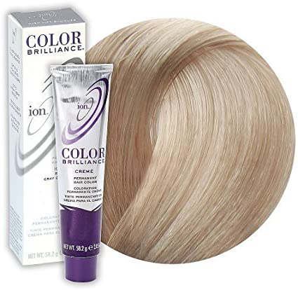 Ion Color Briliiance Permanent Creme 4A Medium Ash Brown by ...
