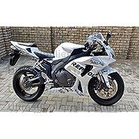 Silver Black White Fairing Injection ABS for 2007-2008 Honda CBR 600 RR 600RR CBR600RR