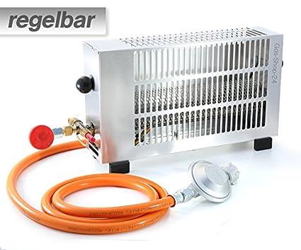 Bekannt Regelbare 1,7 kW Zeltheizung/Mini Gasheizung Aluminium mit TX78