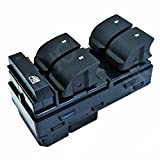 #3: MUCO 25789692 Left-front Driver Master Power Window Switch for 2007-2015 Chevy Silverado GMC Sierra Yukon Buick Enclave