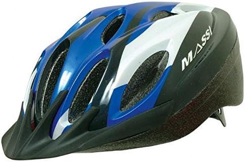 Massi Basic - Casco para Bicicleta Unisex, Color Azul, Talla M: Amazon.es: Deportes y aire libre