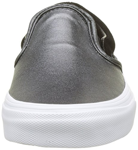 Trainers tone Black Seasonal Classic Multicolour Slip Metallic Leather on True Vans Women's White 2 xZqCYY