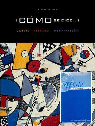Como Se Dice (8th Edition) - Edition Dice