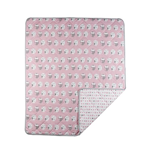 Lolli Living Owl Quilted Comforter, Pink by Lolli Living