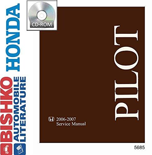 bishko automotive literature Shop Service Repair Manual CD Engine Drivetrain Wiring OEM for 2006 2007 Honda Pilot (Pilot Manual Honda Service Shop)
