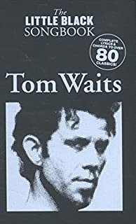 Amazon tom waits anthology piano vocal guitar tom waits the little black songbook chordslyrics stopboris Images