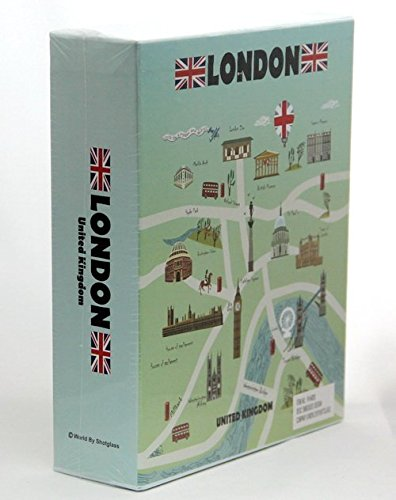 London England Embossed Photo Album 200 Photos / 4x6
