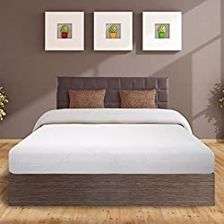 "Best Price Mattress 8"" Air Flow Memory Foam Mattress, Short Queen"