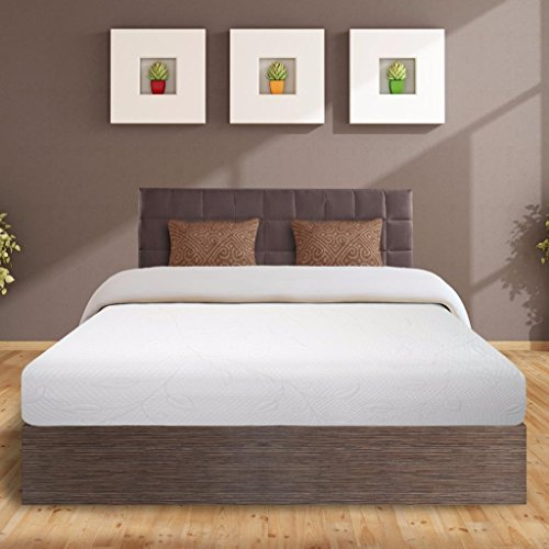 Best Price Mattress 8' Air Flow Memory Foam Mattress & 14' Premium Metal Bed Frame Set, King