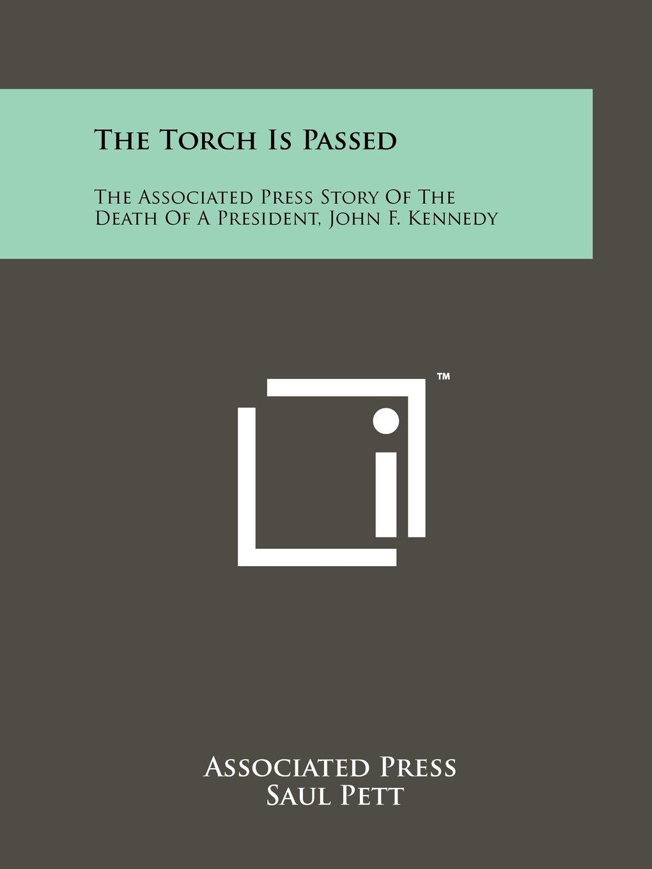 HS Książki antykwaryczne The Torch Is Passed JFK John F Kennedy Book