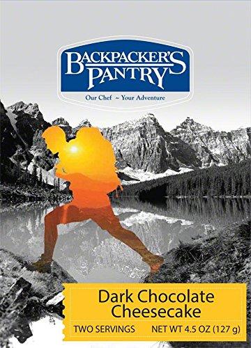 Backpackers Pantry 102612 Dark Chocolate Cheesecake Two Person Dessert by Backpacker's - Cheesecake Dark Chocolate