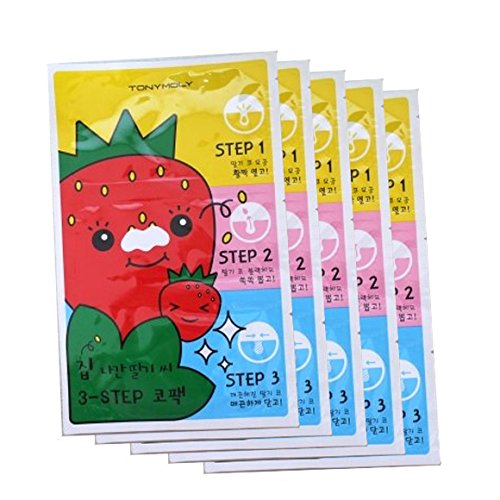 TONYMOLY-Seedless-Strawberry-Seeds-3-step-Nose-Pack-6g