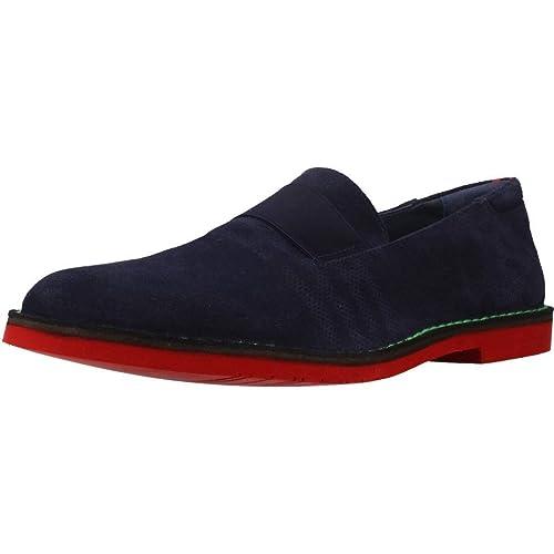 Mocasines para Hombre, Color Azul, Marca ANGEL INFANTES, Modelo Mocasines para Hombre ANGEL INFANTES 57010A Azul: Amazon.es: Zapatos y complementos