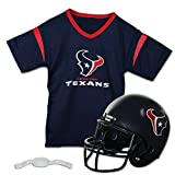 Franklin Sports NFL Houston Texans Replica Youth Helmet and Jersey Set