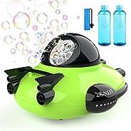 Betheaces Bubble Machine - Spaceship Theme Bubble Maker 2000+ Bubbles Per Minute, Bubble Machine Toys for Kids