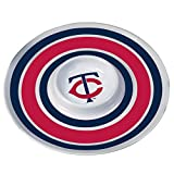 MLB Minnesota Twins 14-Inch Melamine Chip and Dip