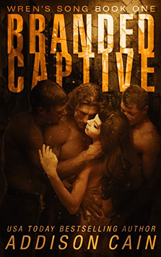 Branded Captive: A Reverse Harem Omegaverse Dark Romance (Wren's Song Book 1) cover