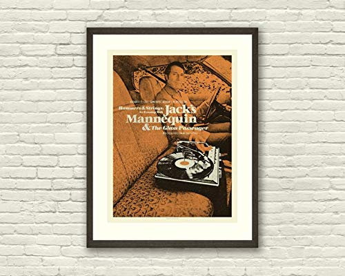 NHMug Jack's Mannequin Concert Lithograph Mid Century Modern Design Poster Gifts for Men Woman [No Framed] Poster Home Art Wall Posters (16x24) ()
