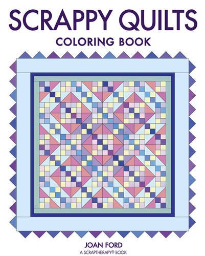 Scrappy Quilts Coloring Book