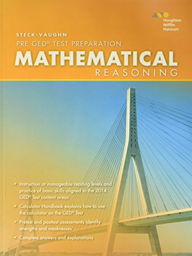 Steck-Vaughn Pre-GED: 2014 Mathematical Reasoning