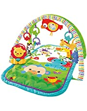 Fisher Price GXC36 - 3 i 1 musikalisk regnskog spädbarn aktivitet gym CHP85
