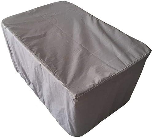 IDWOI Funda Protectora Muebles Jardín Cubierta Exterior Cubrir Patio Rota Mesa Comida Conjunto Cubo Impermeable (Color : Gray, Size : 325x208x58cm): Amazon.es: Hogar