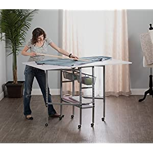Studio Designs 13374.0 Sew Ready Hobby & Craft Table with Drawers 13374