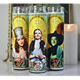 My Pen15 Club Dorothy, Elphaba and Glinda Wizard of Oz Celebrity Prayer Candle Set