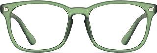 TIJN Occhiali retrò Occhiali luce blu bloccanti per il blocco della cefalea UV Occhiali Antiaffaticamento HighTech Pro Equipment