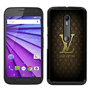 Motorola Moto G 3rd Generation Case ,BLVL Black Moto G 3rd Gen Cover Unqiue And Durable Custom Designed Phone Case