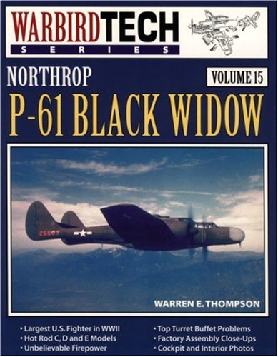 Northrop P-61 Black Widow - Warbird Tech Vol. 15, used for sale  Delivered anywhere in USA