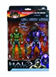 McFarlane Toys Halo Reach Series 2 Spartan vs Elite 2 Pack Sage Sage and Violet Violet