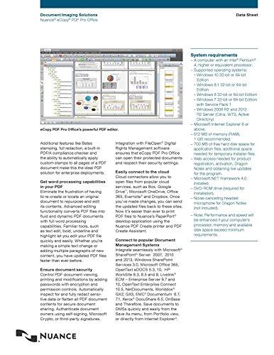 Nuance eCopy PDF Pro Office - Single User License by eCopy (Image #3)