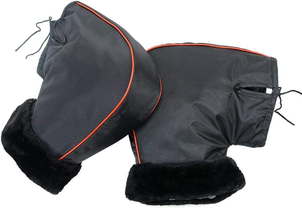 Convient /à Moto Scooter rosemaryrose Gants de Moto Gant Chaud de Protection Coupe-Vent