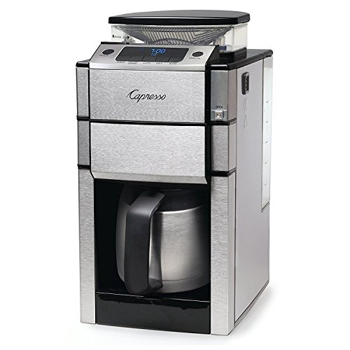 - Capresso 488.05 Team Pro Plus Coffee Maker, Thermal Carafe, One Size, Silver