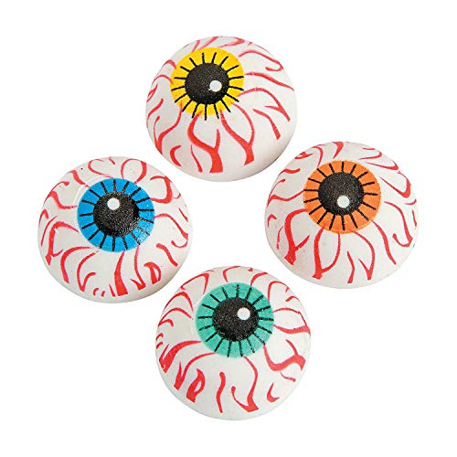 Fun Express Eyeball Erasers (2 dz)