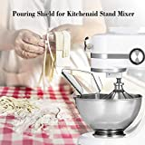Pouring Shield for Kitchen Aid Stand Mixer Metal