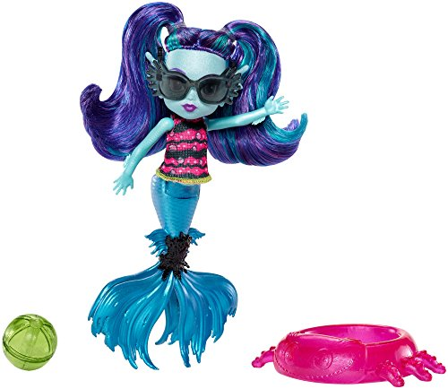 Monster High Monster Family Ebbie Blue Doll, 5.5""