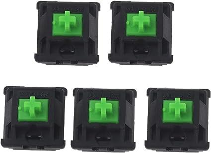 Xuebai 5 Piezas Greetech Green Switches Axis para Razer ...