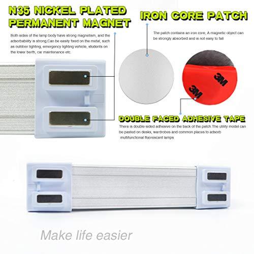 LETOUR LED Tube Magnetic Light Work Lights 4000Lumens 5