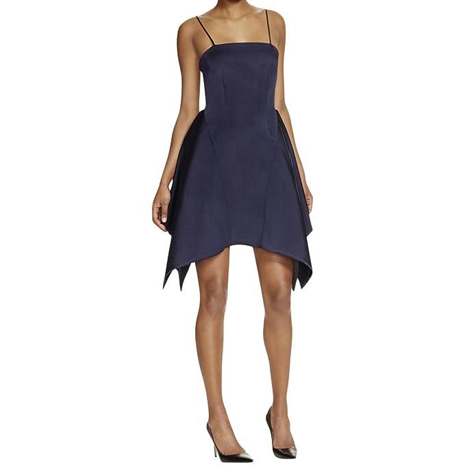 f134e440ecda Keepsake Women's Vertigo Mini Dress in Dark Navy Blue (Medium ...